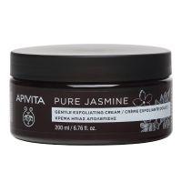 Apivita Pure Jasmine Κρέμα Ήπιας Απολέπισης Σώματος 200ml