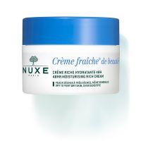 Nuxe Creme Fraiche De Beaute 48ωρη Ενυδατική Κρέμα Προσώπου Πλούσιας Υφής Για Ξηρή/Πολύ Ξηρή Επιδερμίδα 50ml
