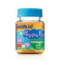 Vitabiotics Wellkid Peppa Pig Omega-3 Συμπλήρωμα Διατροφής Με Γεύση Πορτοκάλι Για Παιδιά 3-7 ετών 30 softgels