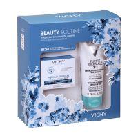 Vichy Beauty Routine Set Με Aqualia Thermal Ενυδατική Κρέμα Προσώπου Για Ξηρό/Πολύ Ξηρό Δέρμα 50ml & Δώρο Purete Thermale Γαλάκτωμα Καθαρισμού 3 Σε 1 100ml