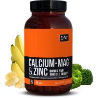 QNT Calcium, Magnesium & Zinc Φόρμουλα με Ασβέστιο-Μαγνήσιο-Ψευδάργυρο 60 κάψουλες