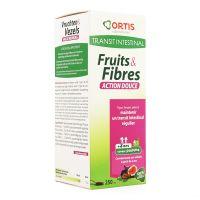 Ortis Fruits & Fibres Σιρόπι Για Παιδιά 3+ ετών 250ml