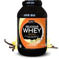 QNT Delicious Whey Protein Powder Για Μυϊκή Ανάπτυξη Με Γεύση Vanilla 2.2kg