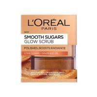 L'Oreal Paris Smooth Sugars Glow Scrub Προσώπου για Λάμψη 50ml