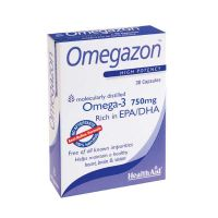 Health Aid Omegazon Anti-Reflux Formula 30 κάψουλες