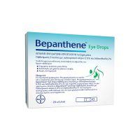 Bepanthene Eye Drops Οφθαλμικές Σταγόνες με Υαλουρονικό Νάτριο 20x0.5ml μονοδόσεις