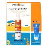 La Roche-Posay Set Με Anthelios Dermo-Pediatrics Παιδικό Αντηλιακό Σπρέι Σώματος Υψηλής Προστασίας Spf50+ 200ml & Δώρο Lipikar Gel Lavant 100ml