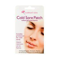 Carnation Cold Sore Επιθέματα Επιχείλιου Έρπητα 10τμχ