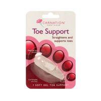 Carnation Toe Support Υποστηρικτικό Gel Για Τα Δάκτυλα Του Ποδιού 1τμχ