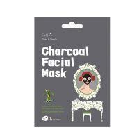 Cettua Clean & Simple Charcoal Μάσκα Προσώπου 1τμχ