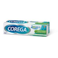 Corega 3D Hold Ultra Fresh Στερεωτική Κρέμα Οδοντοστοιχιών Με Γεύση Μέντα 40gr