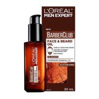 L'Oreal Paris Men Expert Barber Club Λάδι Για Πρόσωπο & Μούσια, Με Αιθέριο Έλαιο Κέδρου 30ml