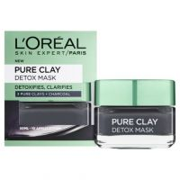 L'Oreal Paris Pure Clay Detox Μάσκα Προσώπου Εντατικού Καθαρισμού 50ml