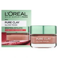 L'Oreal Paris Pure Clay Glow Μάσκα Προσώπου με Άργιλο Για Εντατικό Καθαρισμού 50ml