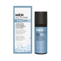 Wise Men All In One After-Shave, Ενυδατική & Αντιγηραντική 24ωρη Κρέμα Προσώπου 50ml