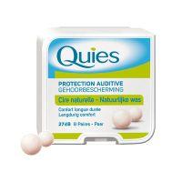 PharmaQ Quies Earplugs Pure Wax Ωτοασπίδες από Φυσικό Κερί Μιας Χρήσης 8 ζευγάρια