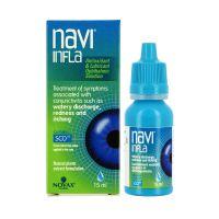 Novax Pharma Navi Infla Αντιοξειδωτικές & Λιπαντικές Σταγόνες Για Την Αντιμετώπιση Οφθαλμικών Φλεγμονών 15ml