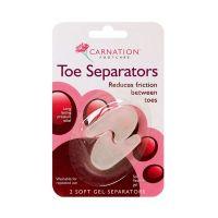 Carnation Toe Separator Soft Gels Μαλακά Διαχωριστικά Δαχτύλων 2τμχ
