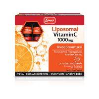 Lanes Vitamin C 1000mg Liposomal Βιταμίνες για Ενίσχυση του Ανοσοποιητικού με γεύση Πορτοκάλι 10x10ml