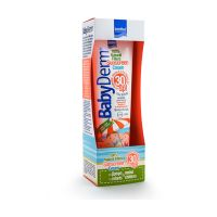 Babyderm Sunscreen Cream Παιδικό Αντηλιακό Γαλάκτωμα Προσώπου/Σώματος Spf30 με Υαλουρονικό Οξύ, Βιταμίνη Ε & Προβιταμίνη Β5 300ml