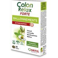 Ortis Colon Relax FORTE για την Σωστή Ισορροπία της Εντερικής Λειτουργίας 30 ταμπλέτες