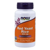 Now Red Yeast Rice Συμπλήρωμα Διατροφής για την Καρδιαγγειακή Υγεία 600mg 60 κάψουλες