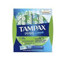Tampax Compak Pearl Super Ταμπόν 16τμχ