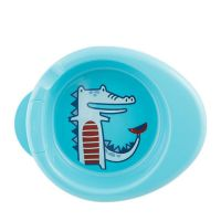 Chicco Warmy Plate Πιάτο Θερμός Μπλέ 6m+