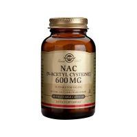 Solgar Nac N-Acetyl-L-Cysteine 600mg 60 vegicaps
