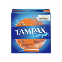 Tampax Compak Super Plus Ταμπόν Με Απλικατέρ 16τμχ