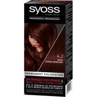 Syoss Color Classic SalonPlex Βαφή Μαλλιών Ακαζού 4-2 50ml