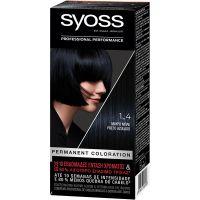 Syoss Color Classic SalonPlex Βαφή Μαλλιών Μαύρο-Μπλέ 1-4 50ml