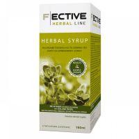 F ECTIVE Herbal Syrup Adults Φυτικό Σιρόπι για τον Βήχα & τον Ερεθισμένο Λαιμό Χωρίς Ζάχαρη 150ml
