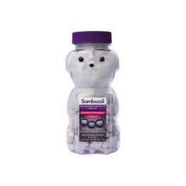 Sambucol for Kids Μασώμενα Αρκουδάκια για παιδιά 60τμχ