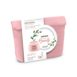Vichy Unfold Your Beauty Set Neovadiol Rose Platinium Day CreamFor Mature And Dule Skin 50ml & Gift Neovadiol Phytosculpt 15ml & Double Glow Pell Mask 15ml