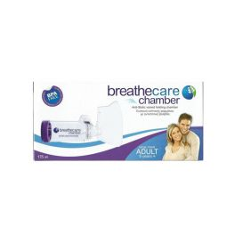 Asepta Breathcare Chamber Adult Συσκευή Εισπνοής Φαρμάκου Με Αντιστατική Βαλβίδα 5+ ετών 175ml 1τμχ