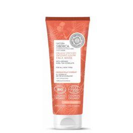 Natura Siberica Organic Certified Πιστοποιημένη Οργανική Μάσκα Προσώπου Στιγμιαίας Λάμψης για όλους τους τύπους δέρματος 75ml