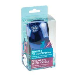 Dalee Hair Βούρτσα Μαλλιών Για Εύκολο Ξεμπέρδεμα Χρώματος Μπλε