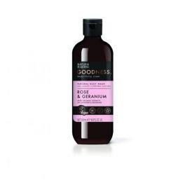 Baylis & Harding Goodness Rose & Geranium Αφρόλουτρο Σώματος 500ml