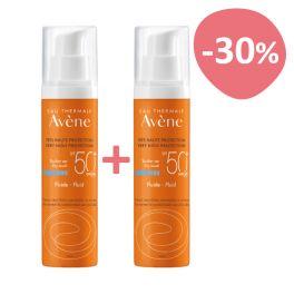 Avene Solaire Set Με Αντηλιακή Κρέμα Προσώπου Ελαφριάς Υφής Για Κανονικό/Μικτό & Ευαίσθητο Δέρμα Spf50+ 2x50ml