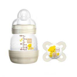 Mam Set Δώρου Για Το Νεογέννητο Με Easy Start Anti-Colic Μπιμπερό Με Θηλή Σιλικόνη 0m+ 130ml & Πιπίλα Start Soother 0m+