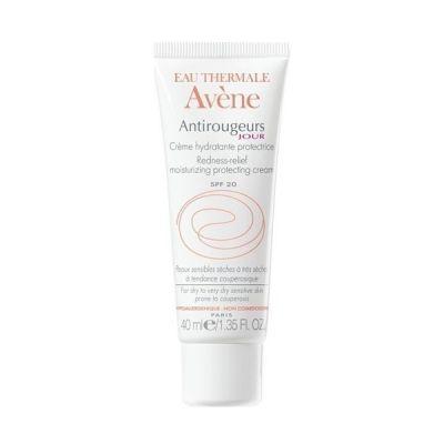 Avene Antirougeurs Jour Προστατευτική Ενυδατική Κρέμα Ημέρας Προσώπου Για Ερυθρο-Ευρυαγγείες Για Ξηρό/Πολύ Ξηρό Δέρμα Spf20 40ml