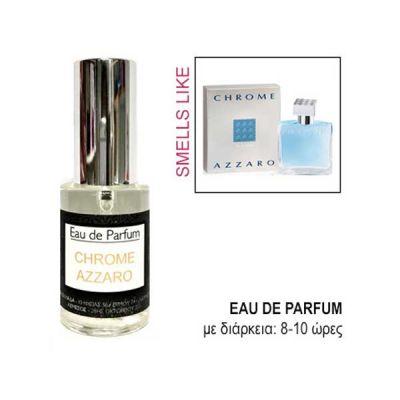 Eau De Parfum For Him Smells Like Azzaro Chrome 30ml
