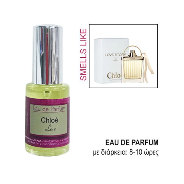 Eau De Parfum Premium For Her Smells Like Chloé Love Story 30ml
