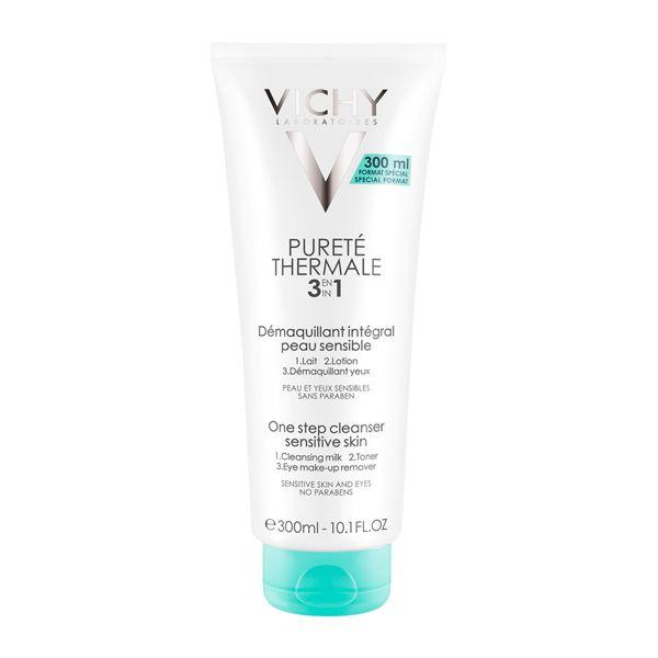Vichy Purete Thermale Γαλάκτωμα Καθαρισμού & Ντεμακιγιάζ 3 Σε 1 300ml