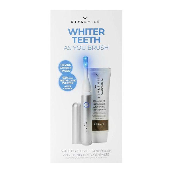 STYLSMILE Teeth Whitening Toothbrush Kit Σετ Οδοντόβουρτσας Λεύκανσης Δοντιών
