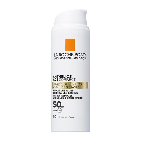 La Roche-Posay Anthelios Age Correct Αντηλιακή Κρέμα Προσώπου Κατά Των Σημαδιών Γήρανσης Spf50 50ml